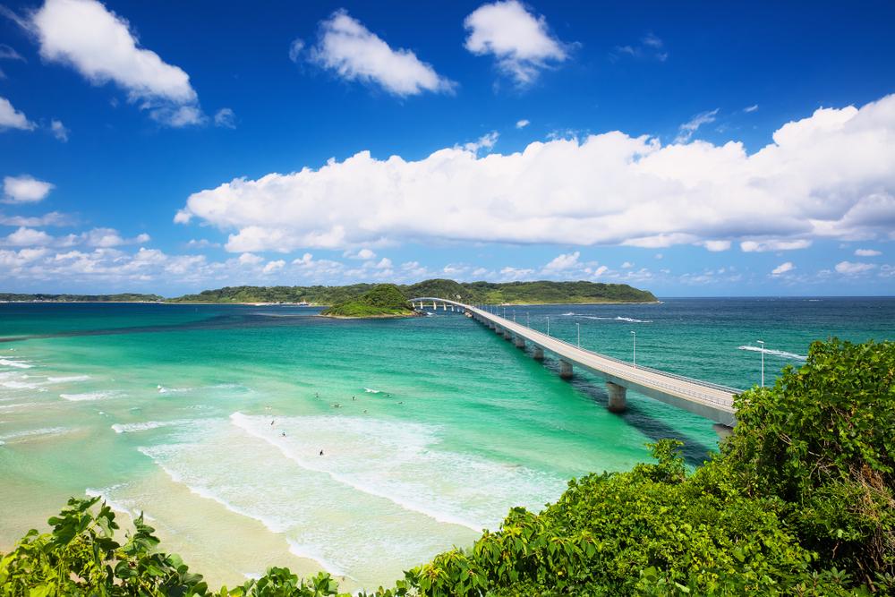 Tsunoshima Island Beach