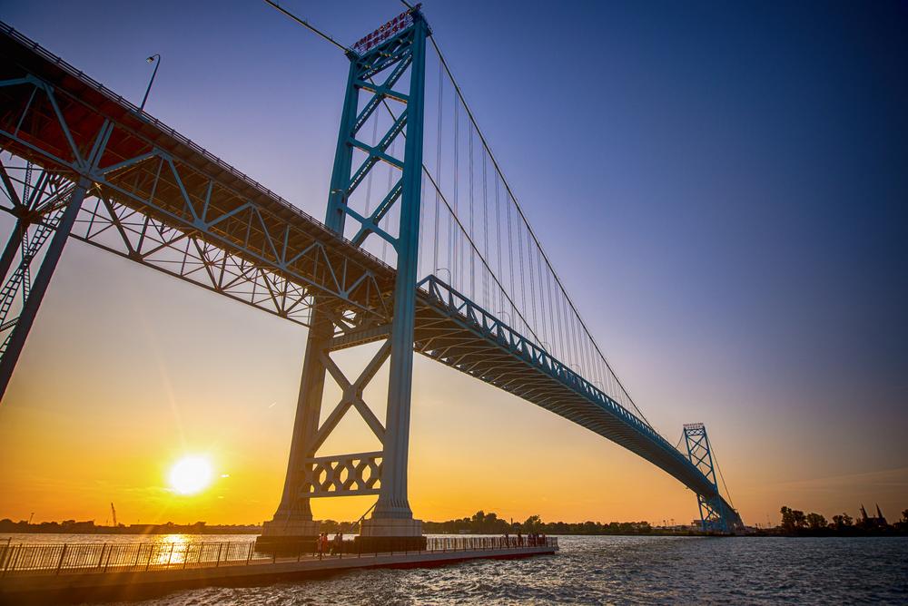 Ambassador Bridge - Detroit, Michigan