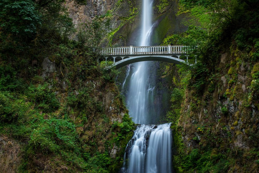 Benson Bridge - Multnomah Falls, Oregon