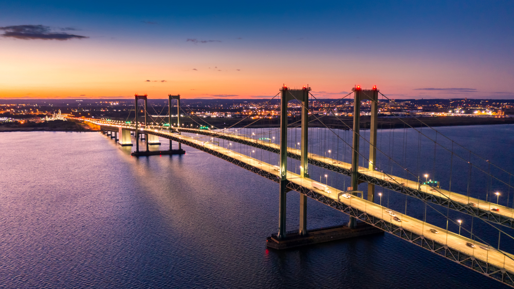 Delaware Memorial Bridge - New Castle, Delaware