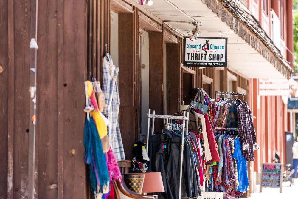 Explore thrift shops