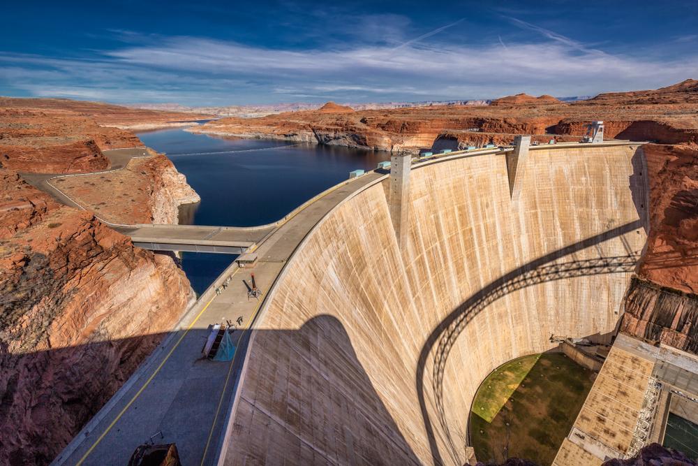 Glen Canyon Dam Bridge - Page, Arizona