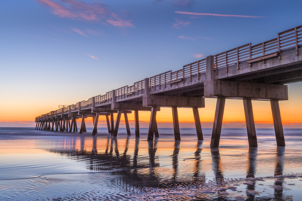 Jacksonville Beach Pier, FL