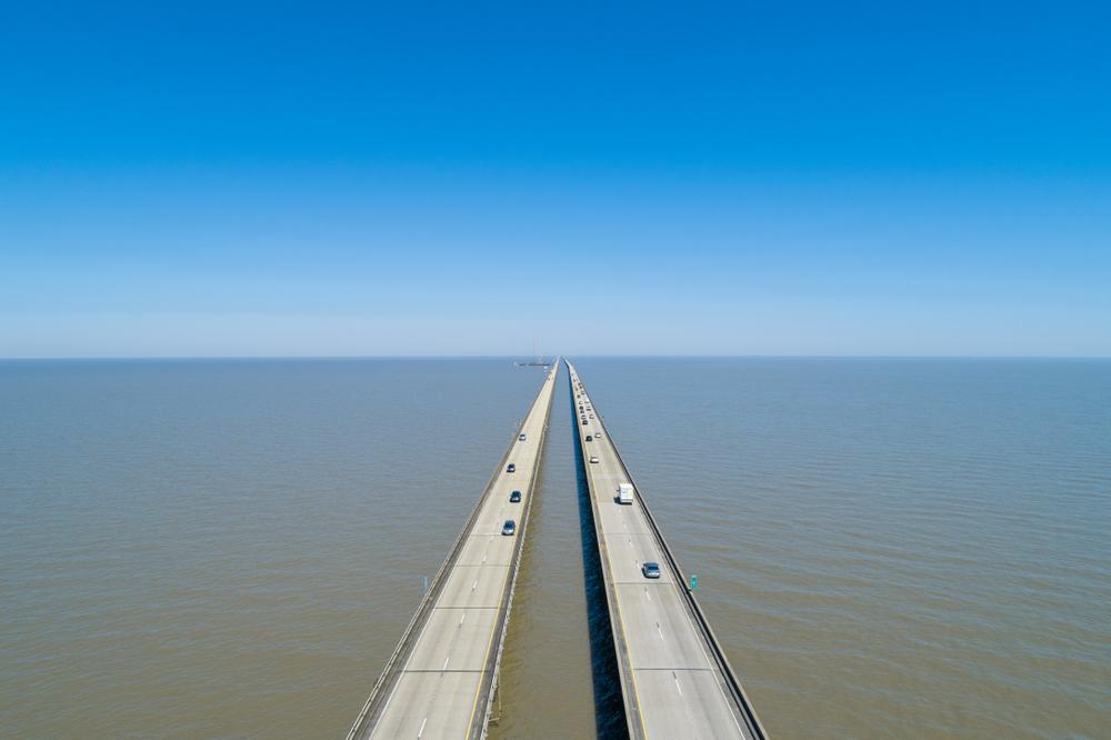 Lake Pontchartrain Causeway - New Orleans, Louisiana