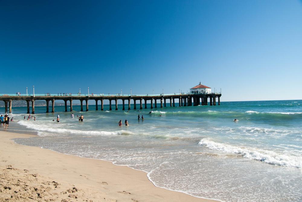 Manhattan Beach Pier, CA