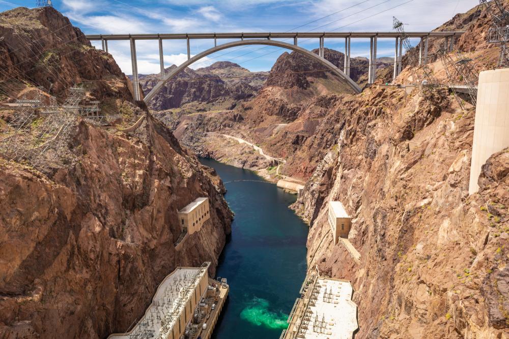 Mike O'Callaghan-Pat Tillman Memorial Bridge - ArizonaNevada