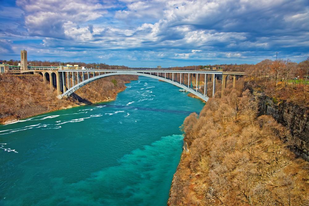 Niagara Falls International Rainbow Bridge - Niagara Falls, New York
