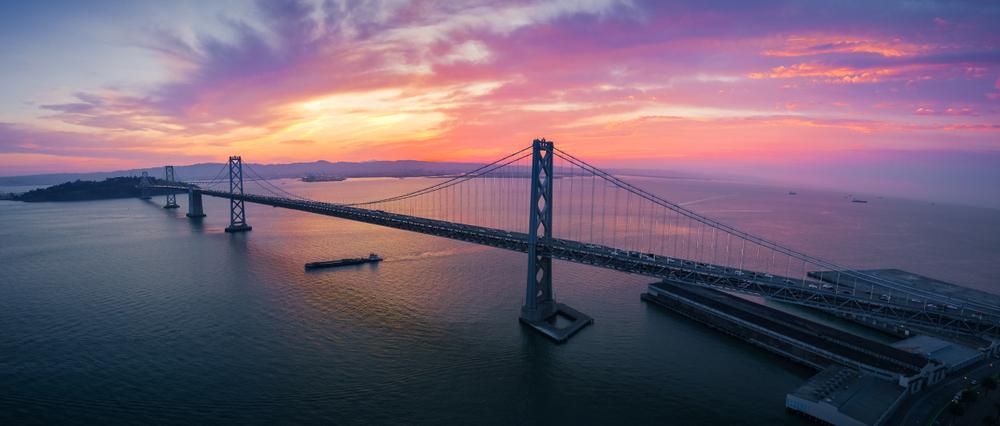 Oakland Bay Bridge - Oakland, California