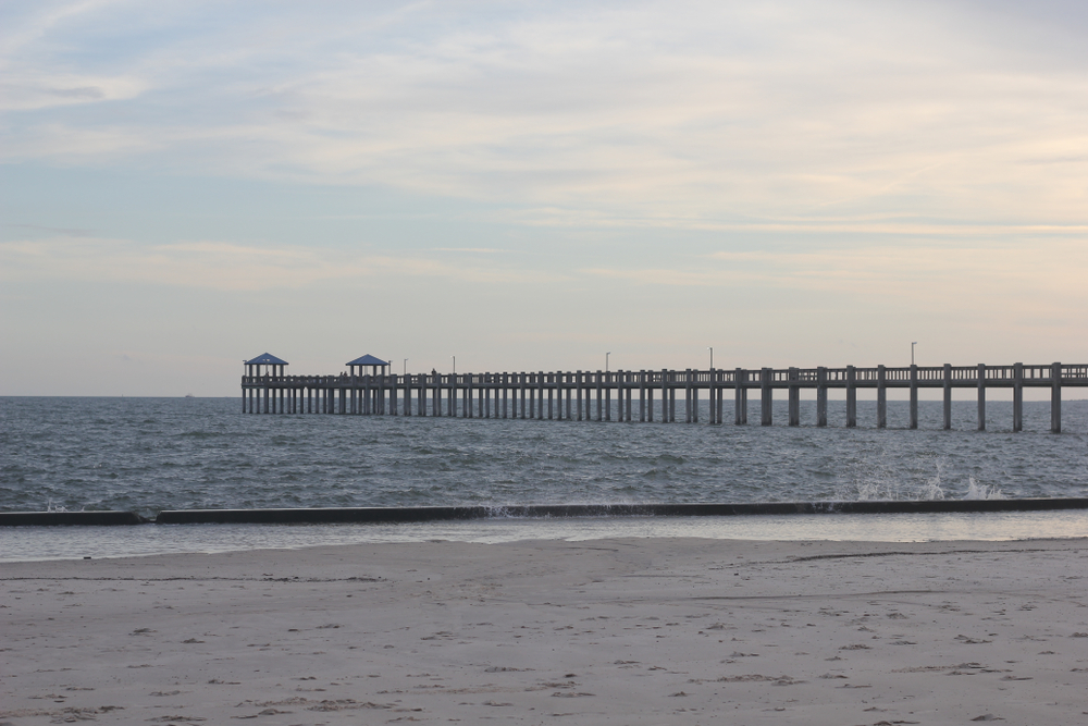 Pascagoula Beach Park Pier, MS