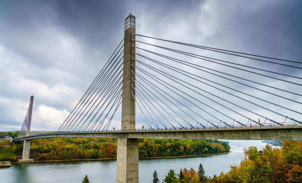 Penobscot Narrows Bridge - Stockton Springs, Maine