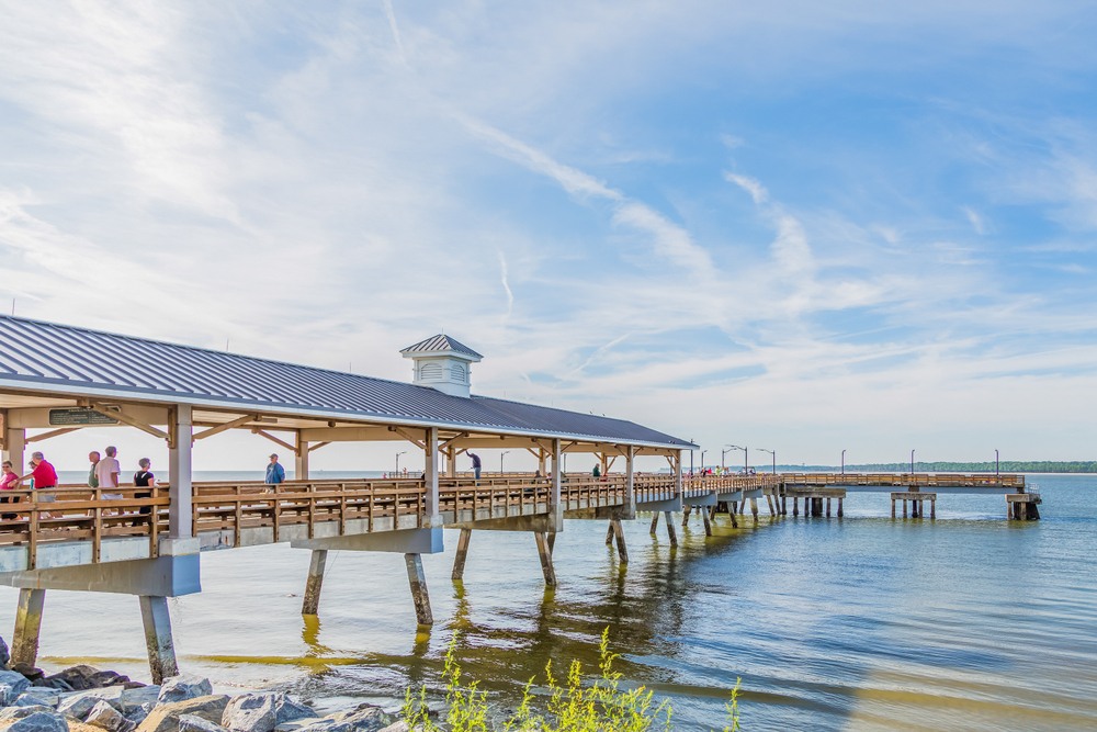 Simons Island Pier, GA
