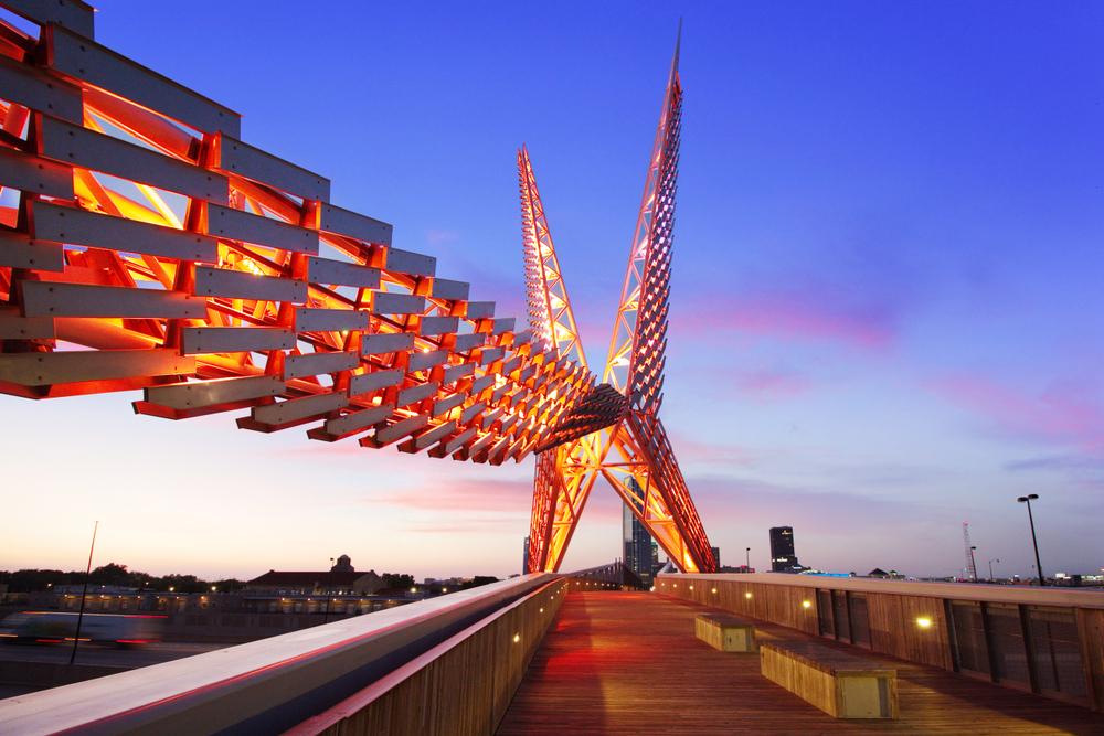 Skydance Bridge - Oklahoma City, Oklahoma