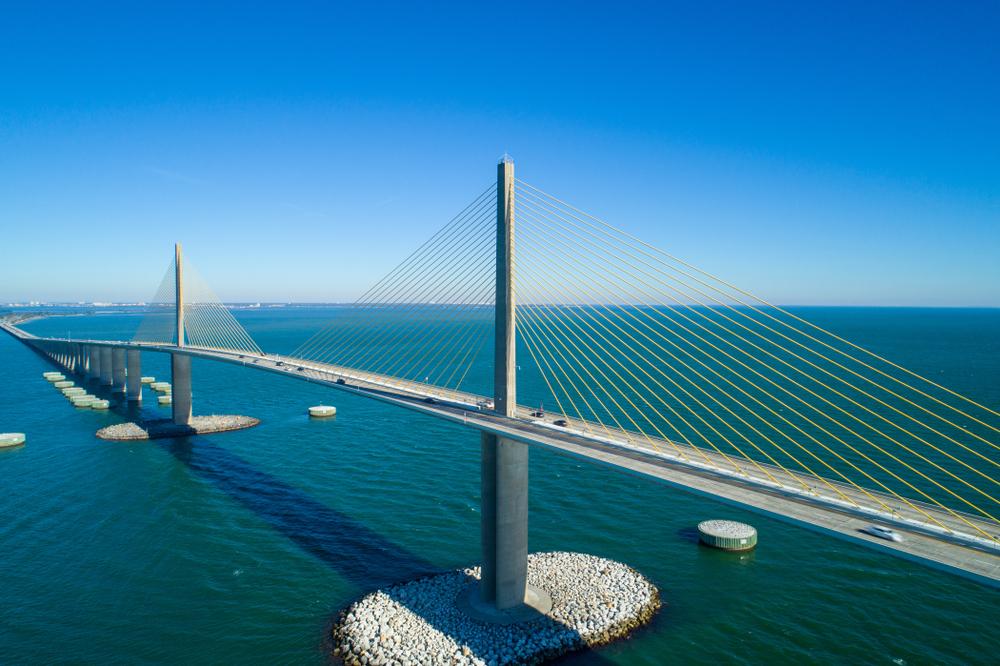 Sunshine Skyway Bridge - Tampa, Florida