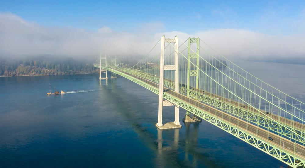 Tacoma Narrows Bridge - Tacoma, Washington