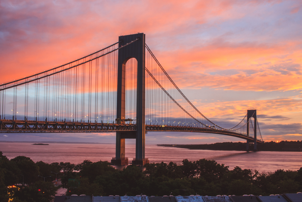 Verrazzano-Narrows Bridge - New York, New York