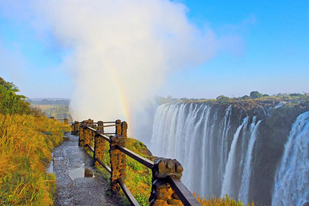 Victoria Falls at Zambia