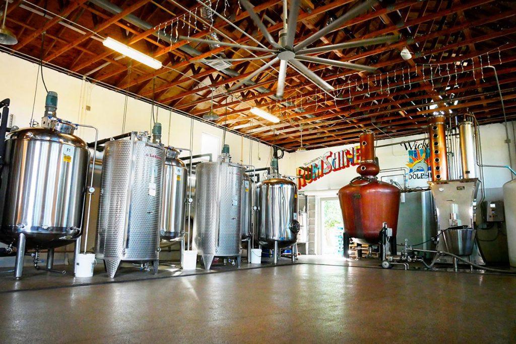 Wicked Dolphin Rum Distillery
