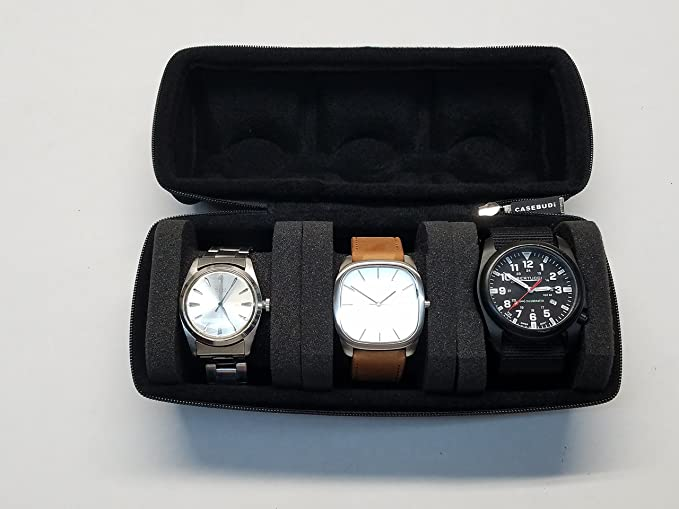 CASEBUDi Triple Watch Travel Case