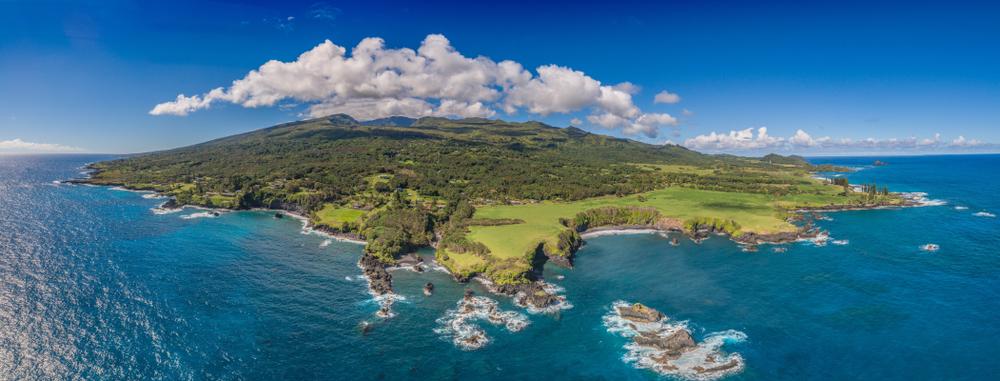 east coast of western Maui