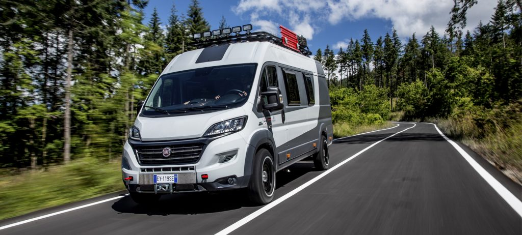 Fiat Ducato Sunlight Cliff 600 Camper Van