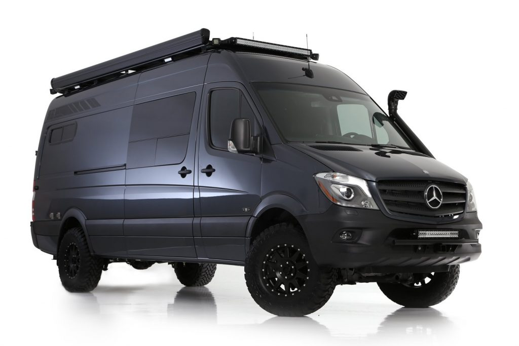 RB Components Sawtooth Touring Van