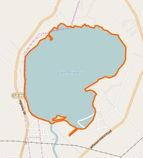Lake Peigneur - Louisiana